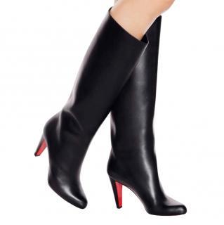 Christian Louboutin Marmara Knee High Black Boots