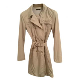 Boss Hugo Boss Beige Lightweight Trench Coat