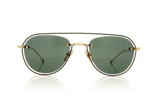 Thom Browne TBS112 Aviator Sunglasses