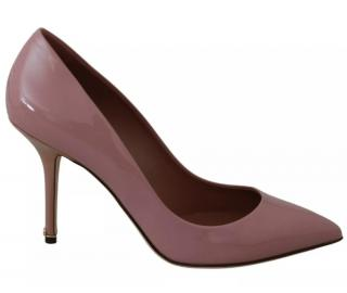 Dolce & Gabbana Pink Patent Leather Pumps
