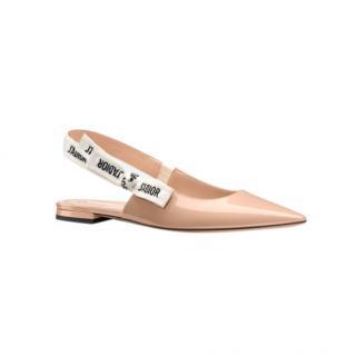 Dior J'Adior Slingback Ballerina Flats