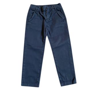 Gucci Kids Navy Chinos