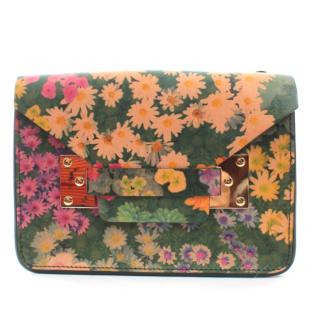 Sophie Hulme Floral Print Milner Envelope Bag