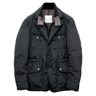 Moncler Navy Sydney Down Coat