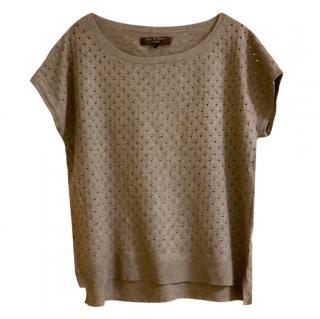 Rag & Bone Grey Knit Top