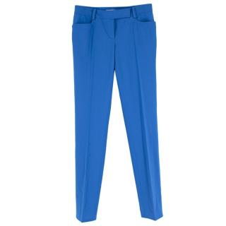 Emilio Pucci Electric Blue Trousers