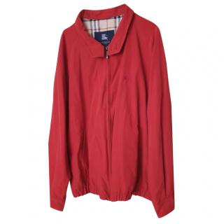 Burberry Red Lightweight Jacket