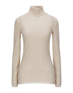 Faith Connexion Lurex Knit Turtleneck Sweater