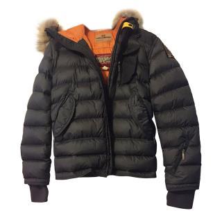 Parajumpers Slate/Orange Ski Master Kids Coat