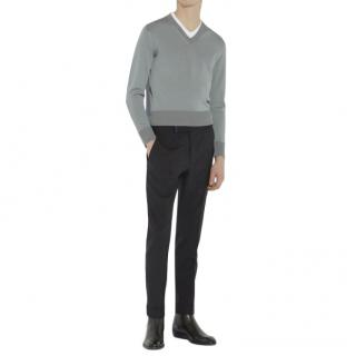 Tom Ford Vanise Silk Jersey V-Neck Jumper