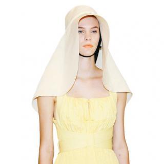 Self Portrait Yellow Oversized Sun Hat
