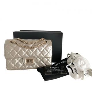 Chanel Metallic Champagne Gold Reissue Flap Bag