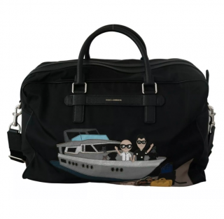Dolce & Gabbana DG Family Patches Travel/Gym Bag