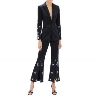 Alexis Crystal Embellished Loucas Jacket & Cropped Pants