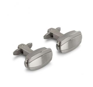 Richard Mille Satin Brushed Titanium Cufflinks