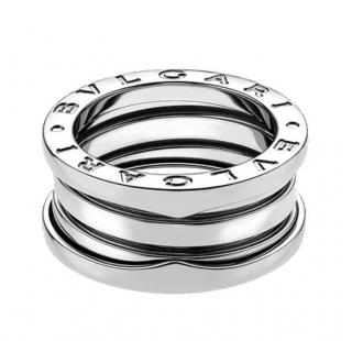 Bvlgari B.Zero1 18kt White Gold Band Ring