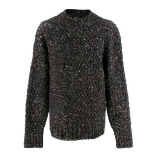 Bottega Veneta Boucle Wool Chunky Knit Sweater