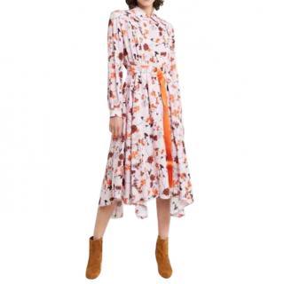 Boss Hugo Boss Pink Kalocca Dress - Worn by Queen Letizia of Spain