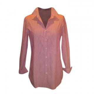 Loro Piana Pink Striped Shirt