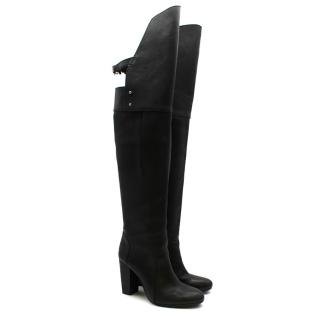 3.1 Phillip Lim Black Leather Heeled Boots