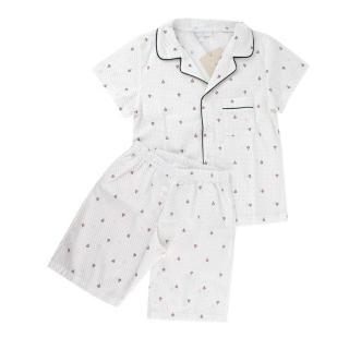 Story Loris Polka Dot Shirt & Shorts Pyjama Set