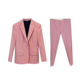 Gucci Pink Tailored Jacket & Pants