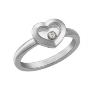 Chopard Happy Diamonds Icon 18ct White Gold Heart Ring
