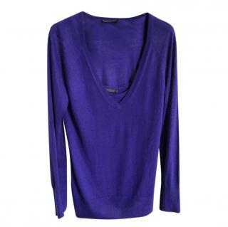Donna Karan Cashmere Knit Twin-Set