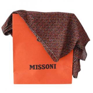 Missoni Lurex Wool Knit Scarf