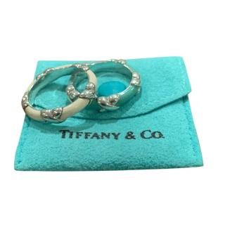 Tiffany & Co. Enamel Stacking X Rings