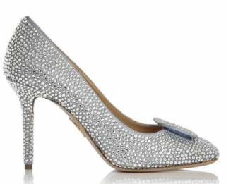 Charlotte Olympia Crystal Happily Ever After Pumps