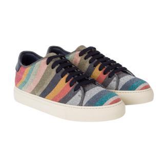 Paul Smith Glitter Swirl Basso Sneakers