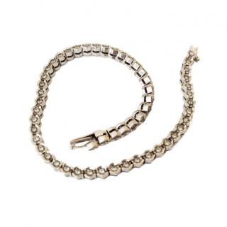 Bespoke Bond St London 1.5ct diamond tennis bracelet