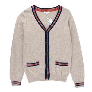 Jacadi Beige Wool & Cotton blend  Cardigan