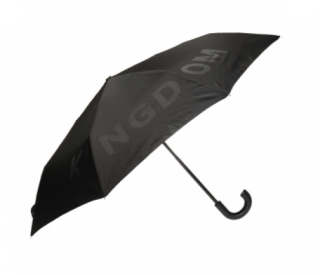Burberry Black Limited Edition Logo Umbrella