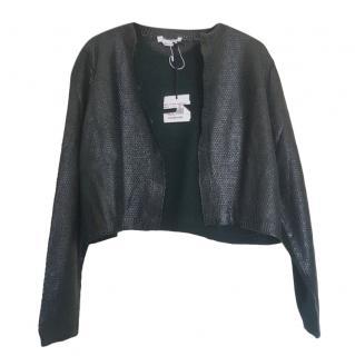 Marina Rinaldi Green Wool Blend Cardigan