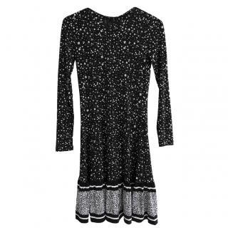 Michael Michael Kors Micro Floral Print Dress