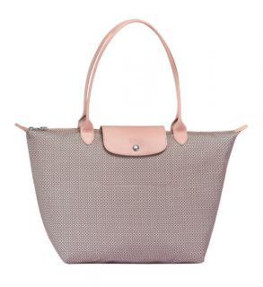 Longchamp Printed Canvas Le Pliage Tote
