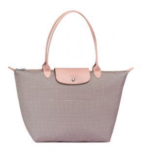 Longchamp Le Pliage Collection Limited Edition Dandy Shoulder Bag Ivory