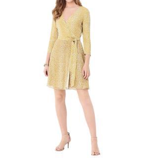 Diane Von Furstenberg Irina Crepe Wrap Dress
