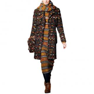 'Paris - Edinburgh ' dress and large wrap