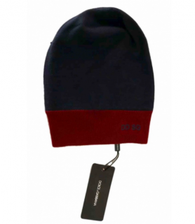 Dolce & Gabbana Colour Block Logo Wool Beanie