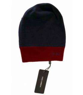 Dolce & Gabbana Colour Block Logo Wool Beanie