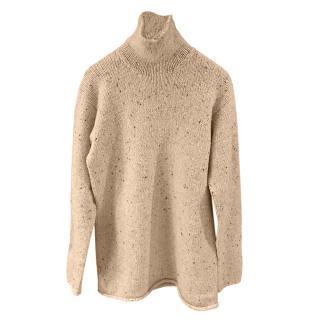 Hermes Grey Cashmere Knit Jumper
