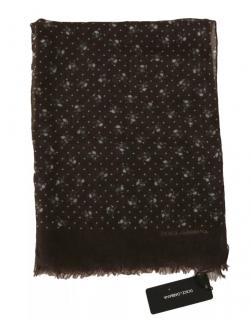 Dolce & Gabbana Mens Cashmere Skull Print Wrap Scarf