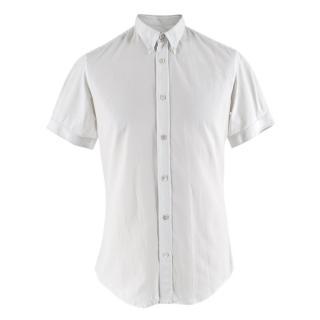 Alexander McQueen White Short-sleeved Shirt