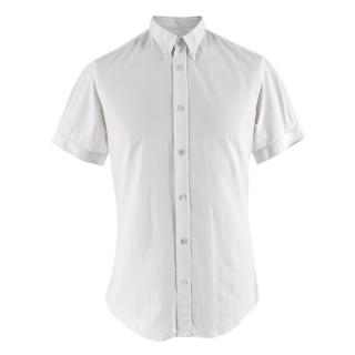 Alexander McQueen White Short-sleeved Shirt