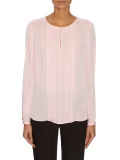 Diane Von Furstenberg Meadow blouse in Camellia Pink