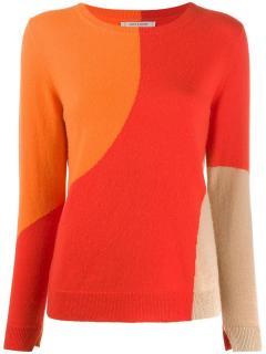Chinti & Parker Colour-block Crew-Neck Pullover