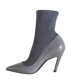 Balenciaga Knife Slash Heel Sock Pumps